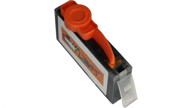 Ersatz Chip Tintenpatrone kompatibel zu HP 364XL Gelb mit Füllstandsanzeige