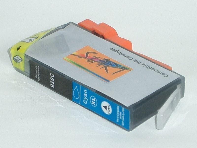 Ersatz Chip Tintenpatrone kompatibel zu HP 920XL Cyan - Neu mit Füllstandsanzeige