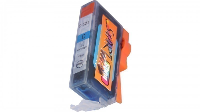 Compatible Ink Cartridge to Canon CLI-521  (C)