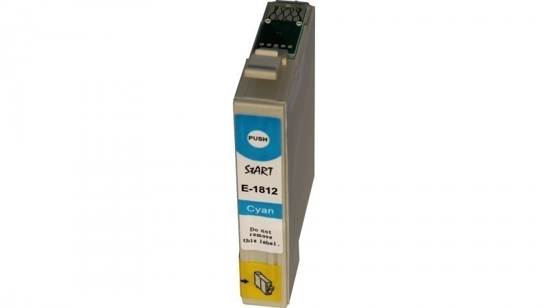 Compatible Ink Cartridge to Epson T1812 (C)