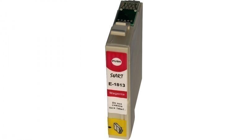 Ersatz Chip Patrone kompatibel zu Epson 18XL, T1813 Magenta