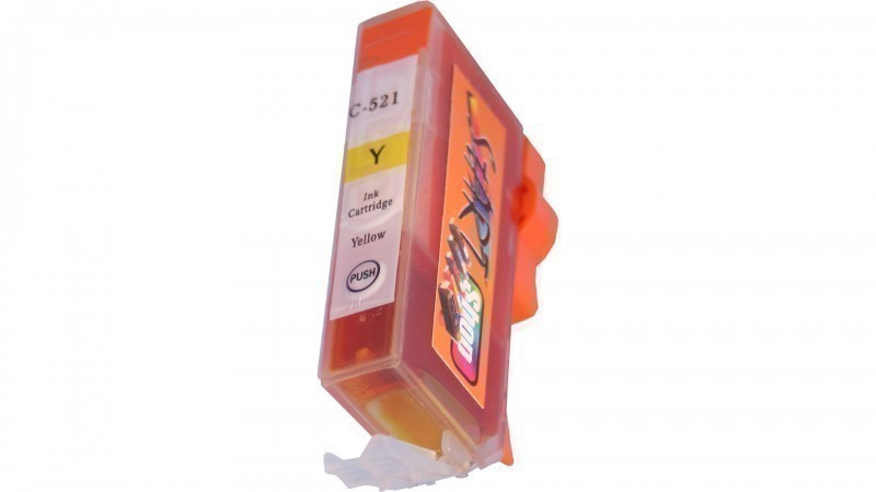 Compatible Ink Cartridge to Canon CLI-521  (Y)