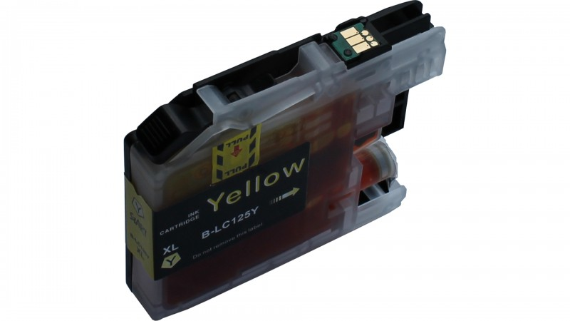 4 Compatible Ink Cartridges to Brother LC127 / LC125  (BK, C, M, Y) XL