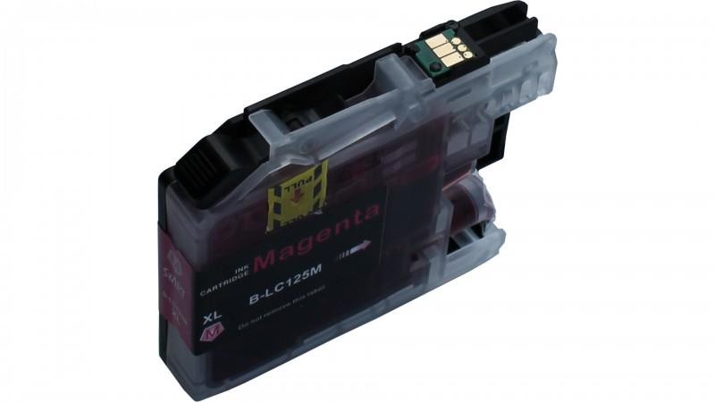 20 XL Ersatz Chip Patronen kompatibel zu Brother LC-127BK XL Schwarz, LC-125C XL Cyan, LC-125M XL Magenta, LC-125Y XL Gelb