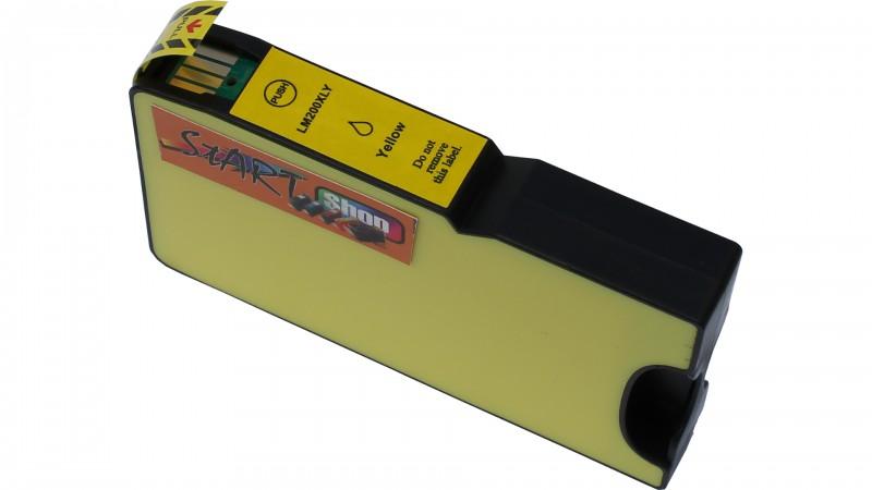 4 XL Ersatz Chip Druckerpatronen kompatibel zu Lexmark 200XL / 210XL Schwarz, Cyan, Magenta, Gelb