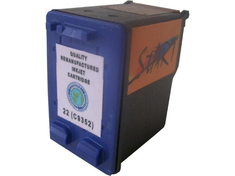 2 Ersatz Patronen kompatibel zu HP21 Schwarz / HP22 Farbe