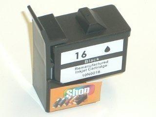 2 Compatible Ink Cartridges to Lexmark L16 (BK)