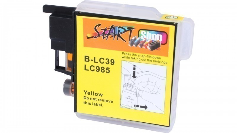 Compatible Ink Cartridge to Brother LC985  (Y)