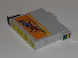 Ersatz Patrone kompatibel zu Epson T0594 Gelb