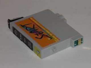 Ersatz Patrone kompatibel zu Epson T0598 Schwarz-Matt