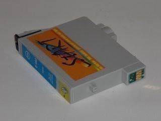 Ersatz Patrone kompatibel zu Epson T0549 Blau