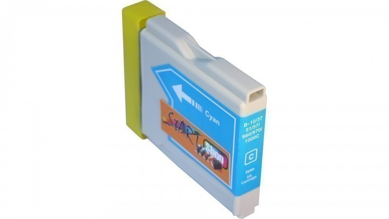 10 Compatible Ink Cartridges to Brother LC970 / LC1000  (BK, C, M, Y) (4|2|2|2)