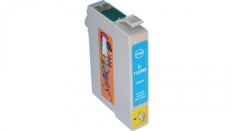 8 Compatible Ink Cartridges to Epson T0711 - T0714  (BK, C, M, Y)
