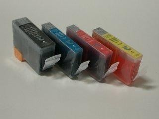 4 Compatible Cleaning Cartridges to Canon BCI-3 / BCI-6  (BK, C, M, Y)