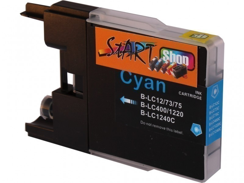 Compatible Ink Cartridge to Brother LC1240  (C)