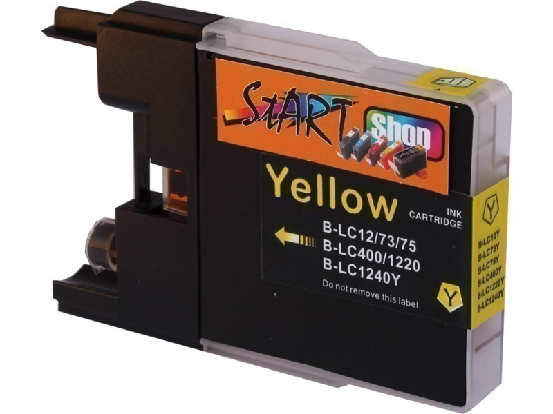 Compatible Ink Cartridge to Brother LC1240  (Y)