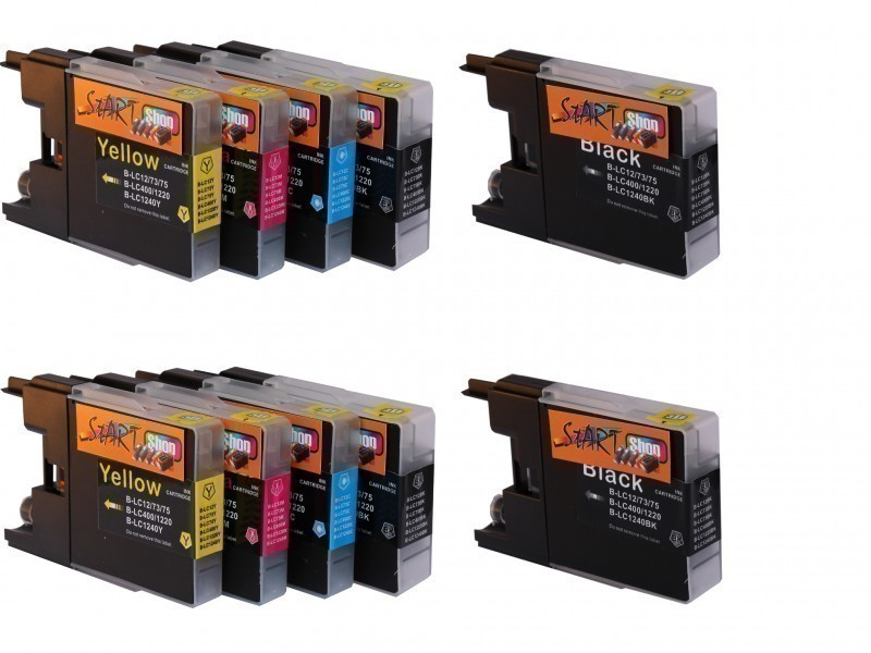 10 Ersatz Patronen kompatibel zu Brother LC1240 XL