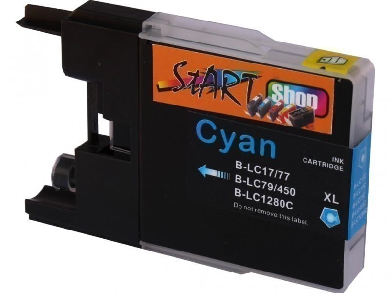 Ersatz Patrone kompatibel zu Brother LC1280 XL Cyan
