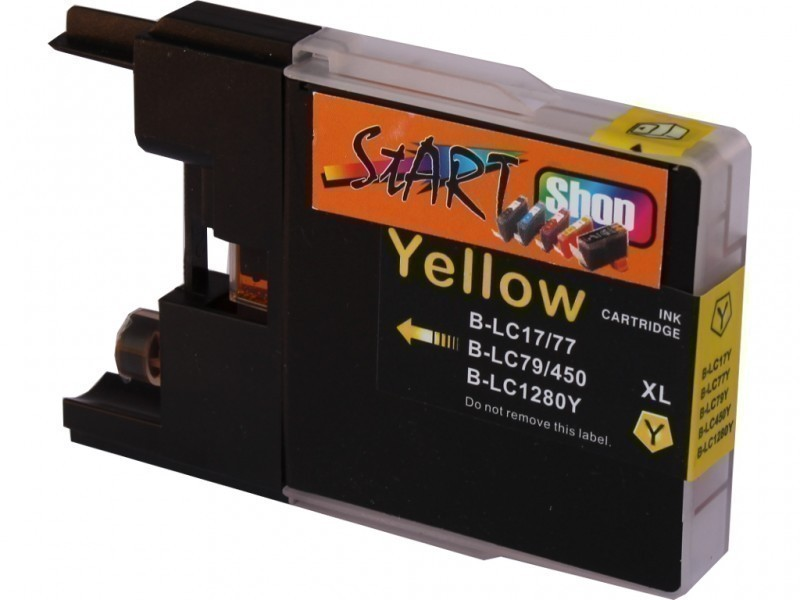 Compatible Ink Cartridge to Brother LC1280  (Y)